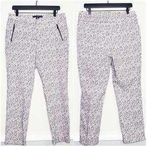 NWT 89TH & MADDISON | Black & White Print Pants